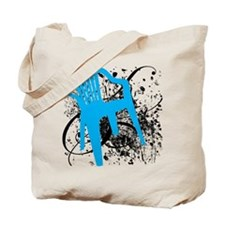 Plastic Chair Graphic Tote Bag