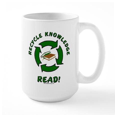 Recycle Knowledge Large Mug