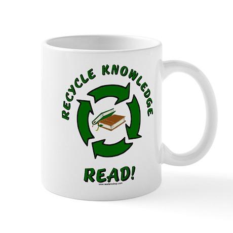 Recycle Knowledge Mug
