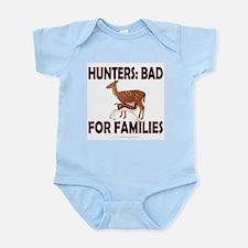 Hunters: Bad for families Infant Bodysuit