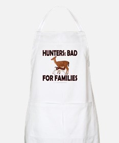 Hunters: Bad for families Apron