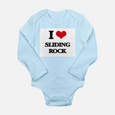 I Love Sliding Rock Body Suit