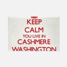 Keep calm you live in Cashmere Washington Magnets