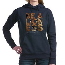 Be A Lioness Women's Hooded Sweatshirt
