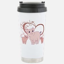 Cute Hog Travel Mug