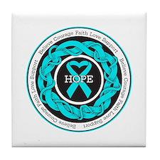 Agoraphobia Hope Tile Coaster