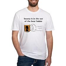 BEER HOLDER ADULT HUMOR Shirt