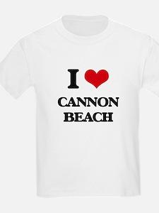 I Love Cannon Beach T-Shirt