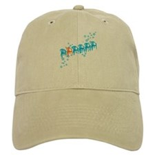Row of Plastic Chairs Baseball Cap