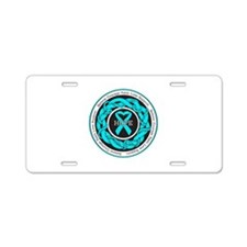 Addiction Recovery Hope Aluminum License Plate
