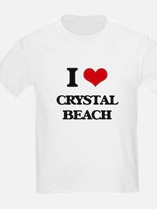 I Love Crystal Beach T-Shirt