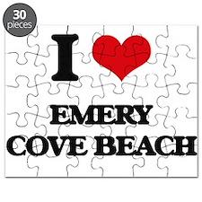 I Love Emery Cove Beach Puzzle