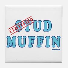 Stud Muffin Tile Coaster