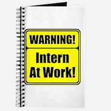"""""""Warning! Intern at Work!"""" Journal"""