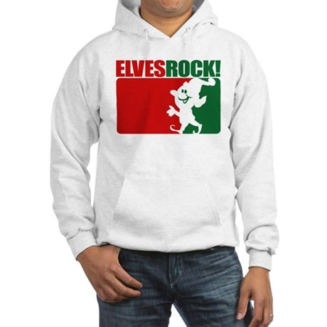 Elves Rock! Hooded Sweatshirt