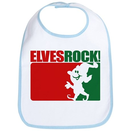Elves Rock! Bib