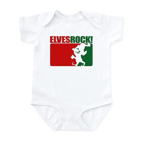 Elves Rock! Infant Bodysuit