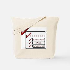 Check Out 2 Tote Bag