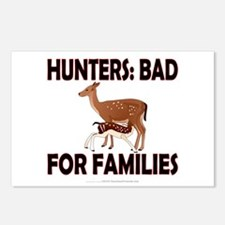Hunters: Bad for families Postcards (Package of 8)