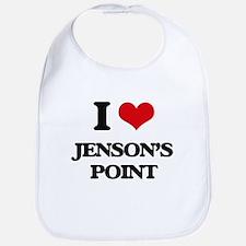 I Love Jenson'S Point Bib