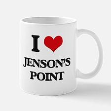 I Love Jenson'S Point Mugs