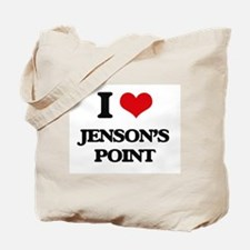 I Love Jenson'S Point Tote Bag