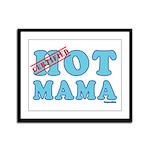 Hot Mama Framed Panel Print