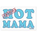Hot Mama Large Poster
