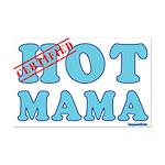 Hot Mama Mini Poster Print
