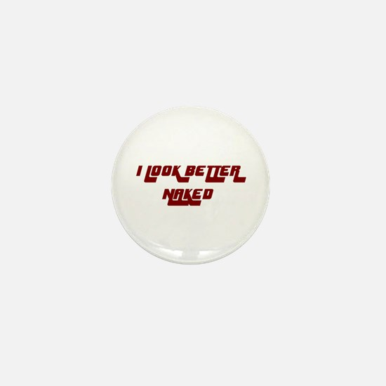 NAKED Mini Button