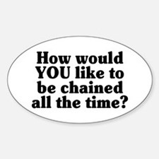 Would YOU like to be chained? - Decal