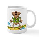 Surfer Monkey Mug