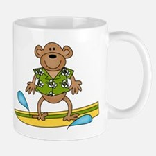 Surfer Monkey Mug