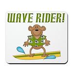 Surfer Monkey Mousepad