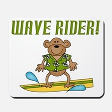 Surfer Monkey Mousepad