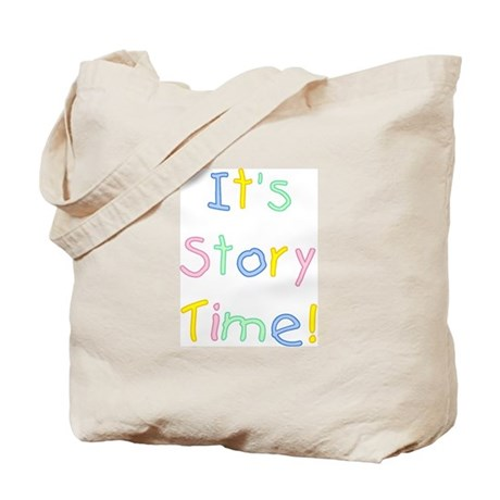 It's Story Time! Tote Bag