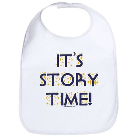 Story Time-Night Sky Bib