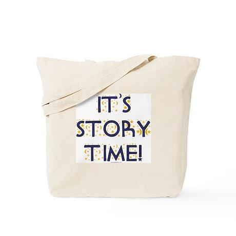 Story Time-Night Sky Tote Bag