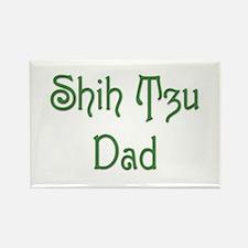 Shih Tzu Dad 9 Rectangle Magnet