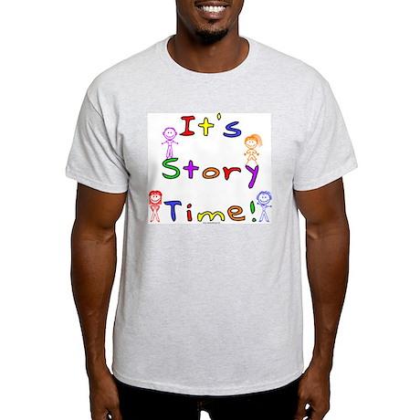 Story Time w Stick Kids Light T-Shirt