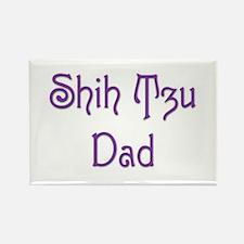 Shih Tzu Dad 12 Rectangle Magnet