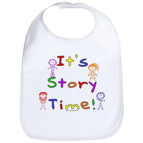 Story Time w Stick Kids Bib