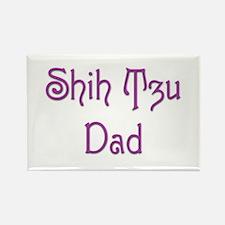 Shih Tzu Dad 13 Rectangle Magnet