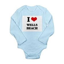 I Love Wells Beach Body Suit