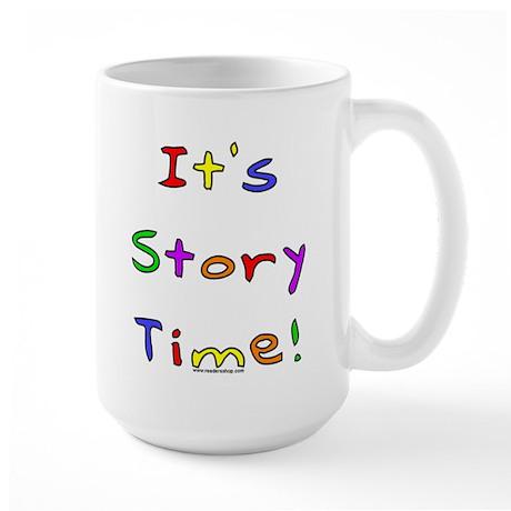 It's Story Time! 2 Large Mug
