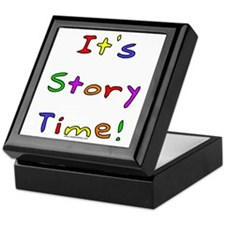 It's Story Time! 2 Keepsake Box