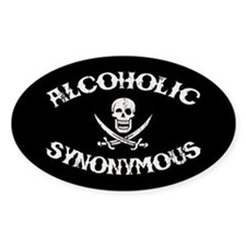 Alcoholic Synonymous Decal