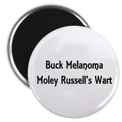 Buck Melanoma Magnet