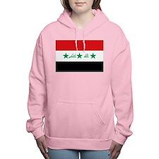 Flag of Iraq Women's Hooded Sweatshirt