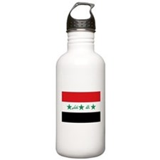 Flag of Iraq Water Bottle